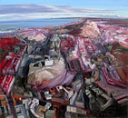 John Hartman: Edinburgh, Looking East from above the Castle, 2009
