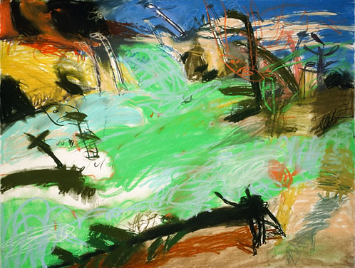 John Hartman: Green Swamp, 1989