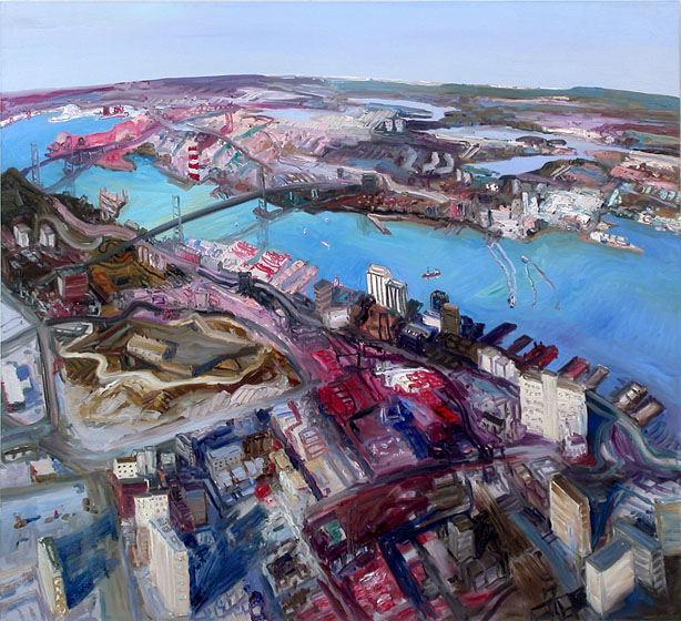 John Hartman: Halifax from above the Citadel, 2009