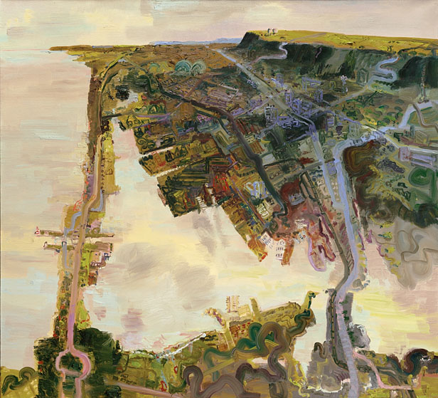 John Hartman: Hamilton Harbour From Above, 2004