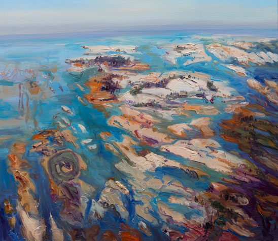 John Hartman: Head Island From Above, 2013