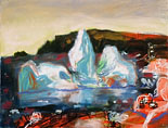 John Hartman: Iceberg Grounded in Pouch Cove, 1998
