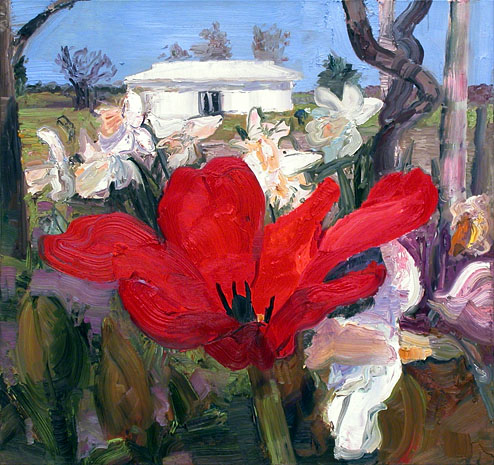 John Hartman: Red Tulip and New Studio, 2006