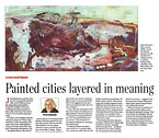 John Hartman: Painted cities layered in meaning